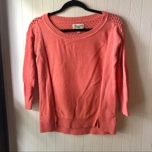 American Eagle Coral Sweater